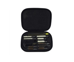 Kaload 16Pcs/Set G101 Cleaning Brush Kit For All Calibers Handguns 9mm Barrel Brushes Tools Set