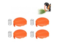 4Pcs Grass Trimmer Spool Cap Cover For Black And Decker NST2018 NST1118 NST2118