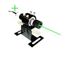 High Intensity Beam 100mW Green Cross Laser Alignment