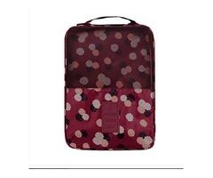 Ktyssp Travel Zipper Portable Pouch Shoe Tote Bag Laundry Storage Waterproof Shoe Bag