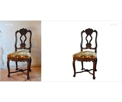 Home decoration product clipping path service for business