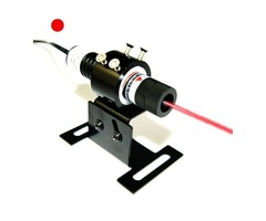 Continuous Aligning 50mW Glass Lens Red Laser Diode Module