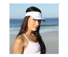SAAKA Women's Super Absorbent Visor. Best for Tennis, Golf, Running & All Sports