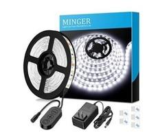 Dimmable LED Strip Lights, MINGER White Strip