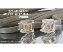 Buy Cat6A and Cat6 Patch Cables Online