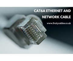 Buy Cat6a Ethernet and Network Cable