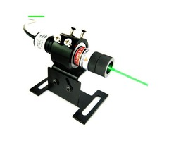 Adjustable Focus Optics 5mW Green Line Laser Alignment