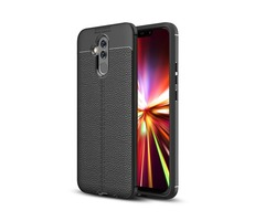Bakeey™ Litchi Pattern Shockproof Back Cover Protective Case for Huawei Mate 20 Lite