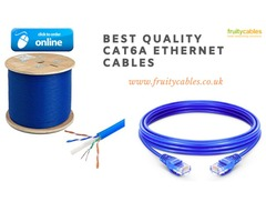 Buy Best Quality Cat6a Ethernet Cables