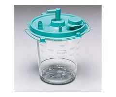 Bemis Healthcare 484410 Bemis Healthcare Quality Medical Products 1200CC Hi-Flow Canister – Product