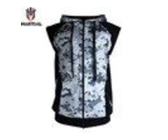 FREE SHIPPING MARTIAL :NEW ARRIVAL FITNESS ZIPPER MMA HOODIES