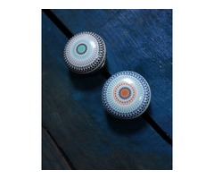 MANDALA CERAMIC CUPBOARD KNOBS