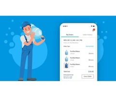 On Demand Water Delivery App