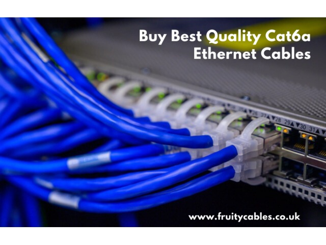 Buy Online Cat6a Ethernet Cables  | free-classifieds.co.uk
