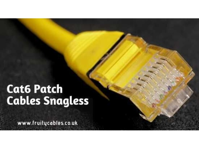 Best Quality Cat6 Patch Cables Snagless | free-classifieds.co.uk