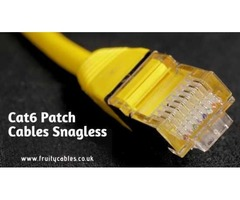 Best Quality Cat6 Patch Cables Snagless