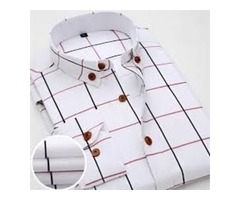 2016 NEW OXFORD PLAID CASUAL MEN'S SHIRT