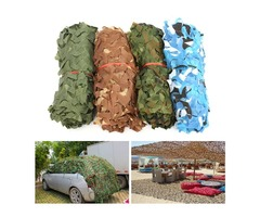 3mx2m Camo Net Camouflage Sunscreen Cover For Camping Military Hunting Shooting Hide