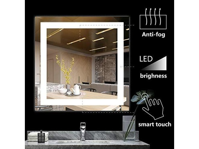 Silver-backed glass provides you with a clear, crisp and flawless reflection in the mirror | free-classifieds.co.uk