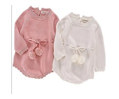 AUTUMN BABY KNITTED ROMPERS SWEATER