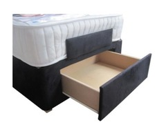 Heavy-Duty Adjustable Bed Storage Drawers | Back Care Beds