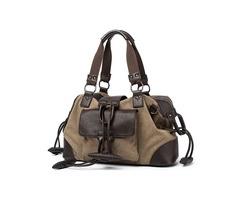 Men Canvas Fashion Large Capacity Outdoor Bag Travel Bag