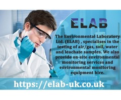 Environmental Testing and Analysis - Water Testing Lab | ELAB