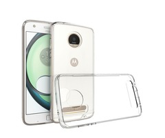 Bakeey™ Transparent Shockproof Soft TPU Back Cover Protective Case for Lenovo Moto Z2 Play
