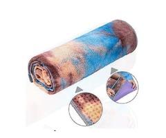 adorence Non Slip Yoga Towel Microfiber Sweat Absorbent &amp