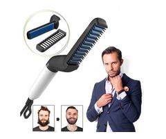 Best Quick Beard Straightener Brush