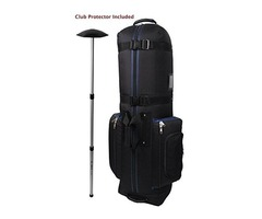 Constrictor golf shuttle bag + North Pole golf club protector. golfuniversity