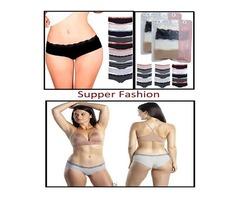 Emprella Womens Lace Underwear Hipster Panties Cotton-Spandex-10