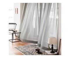 Soft Breeze Brilliant Sheer Curtains Online- Voila Voile