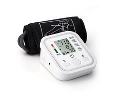 BANGPHY Upper Arm Electronic Digital Blood Pressure Pulse Monitor Portable Sphygmomanometer Meter Au