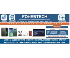 Fonestech the Best iPhone, Mobile, Computre Screen Repair in West Bromwich