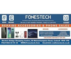 Fonestech the Best iPhone, Mobile, Computre Screen Repair in Codsall