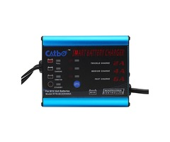 6-12V 1.2A Motorcycle Automatic Battery Charger Maintainer Aluminium Fast Auto Charging
