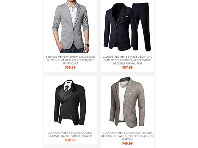 Men Suits And Blazers | free-classifieds.co.uk
