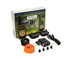RT-880 2 Collar Electric Dog Training Collar System Adjustable Rechargeable Remote Control