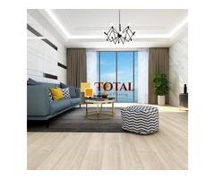 Beige White, DIY Box, WPC Core LVT Flooring | Total Wood Flooring