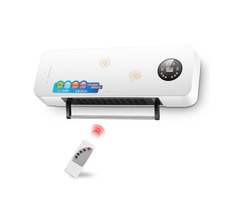 220V 2000W Wall-mounted Heater Room Warming Heater Eletrical Heating Equipment With Remote Control