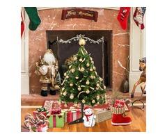 30cm Artificial Mini Christmas Tree Encryption 35 Christmas Tree Desktop Fake Tree Decorations