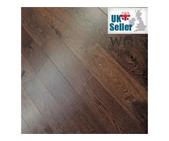 Engineered Oak Walnut Colour Stain Lacqured | Total Wood Flooring