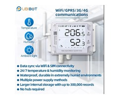 Remote Thermometer Sensor for Monitor Environmental Conditions