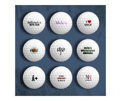 1 Dozen Personalized Text on Bridgestone Tour B330 Golf Balls
