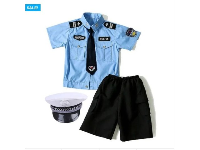 KIDS POLICE OFFICER COSPLAY COSTUME | free-classifieds.co.uk