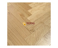 Engineered Oak Herringbone UV Lacquered | Total Wood Flooring