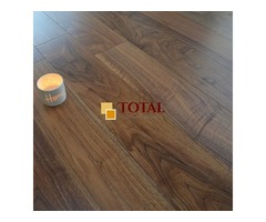 Engineered Oak American Black Walnut Lacquered | Total Wood Flooring