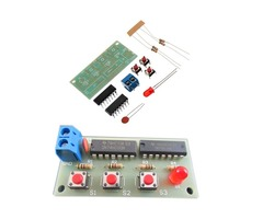 DIY Three Person Voter Module Kit DIY Electronic Production Kit 74HC00+74HC10