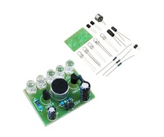 DIY Voice Controlled Melody Light 5MM Highlight DIY LED Flash Electronic Training Kit